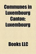Communes in Luxembourg Canton: Luxembourg