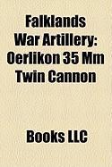 Falklands War Artillery: Oerlikon 35 MM Twin Cannon