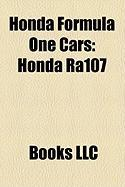 Honda Formula One Cars: Honda Ra107