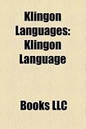 Klingon Languages: Klingon Language