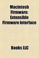 Macintosh Firmware: Extensible Firmware Interface