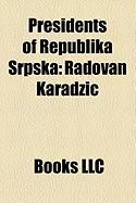 Presidents of Republika Srpska: Radovan Karadi