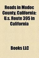 Roads in Modoc County, California: U.S. Route 395 in California, California State Route 299
