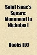 Saint Isaac's Square: Monument to Nicholas I
