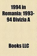 1994 in Romania: 1993-94 Divizia a