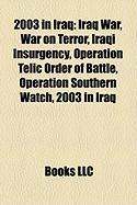 2003 in Iraq: Iraq War