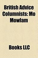 British Advice Columnists: Mo Mowlam