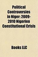 Political Controversies in Niger: 2009-2010 Nigerien Constitutional Crisis, Nigerien Constitutional Referendum, 2009