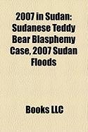 2007 in Sudan: Sudanese Teddy Bear Blasphemy Case