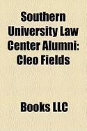 Southern University Law Center Alumni: Cleo Fields