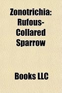 Zonotrichia: Rufous-Collared Sparrow