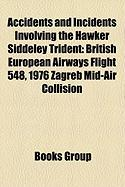 Accidents and Incidents Involving the Hawker Siddeley Trident: British European Airways Flight 548, 1976 Zagreb Mid-Air Collision