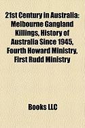 21st Century in Australia: Melbourne Gangland Killings