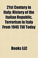 21st Century in Italy: History of the Italian Republic
