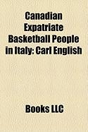 Canadian Expatriate Basketball People in Italy: Carl English