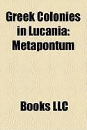 Greek Colonies in Lucania: Metapontum