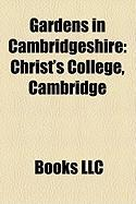 Gardens in Cambridgeshire: Christ's College, Cambridge