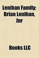 Lenihan Family: Brian Lenihan, Jnr