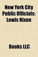 New York City Public Officials: Lewis Nixon