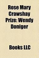 Rose Mary Crawshay Prize: Wendy Doniger