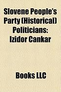 Slovene People's Party (Historical Politicians: Izidor Cankar