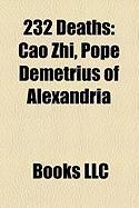 232 Deaths: Cao Zhi