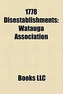 1778 Disestablishments: Watauga Association