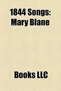 1844 Songs: Mary Blane