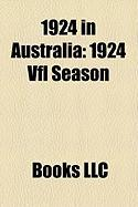 1924 in Australia: 1924 Vfl Season