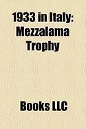 1933 in Italy: Mezzalama Trophy