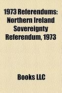 1973 Referendums: Northern Ireland Sovereignty Referendum, 1973