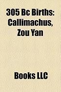 305 BC Births: Callimachus