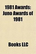 1981 Awards: Juno Awards of 1981