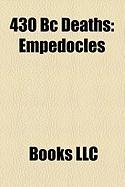 430 BC Deaths: Empedocles