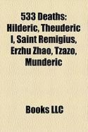 533 Deaths: Saint Remigius