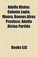 Adolfo Alsina: Colonia Lapin, Rivera, Buenos Aires Province, Adolfo Alsina Partido, Carhue