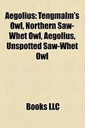 Aegolius: Tengmalm's Owl