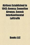 Airlines Established in 1943: Avensa