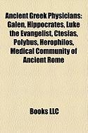 Ancient Greek Physicians: Galen