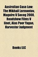 Australian Case Law: The Mikhail Lermontov