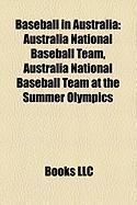 Baseball in Australia: Australia National Baseball Team