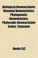 Biological Nomenclature: Phylogenetic Nomenclature