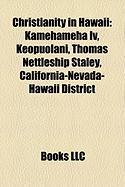 Christianity in Hawaii: Kamehameha IV