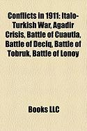 Conflicts in 1911: Italo-Turkish War