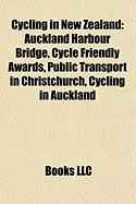 Cycling in New Zealand: Auckland Harbour Bridge