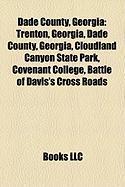 Dade County, Georgia: Cloudland Canyon State Park