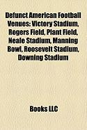 Defunct American Football Venues: Victory Stadium