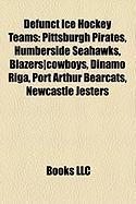 Defunct Ice Hockey Teams: Pittsburgh Pirates