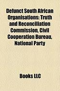 Defunct South African Organisations: Civil Cooperation Bureau