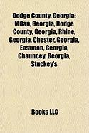 Dodge County, Georgia: Eastman, Georgia